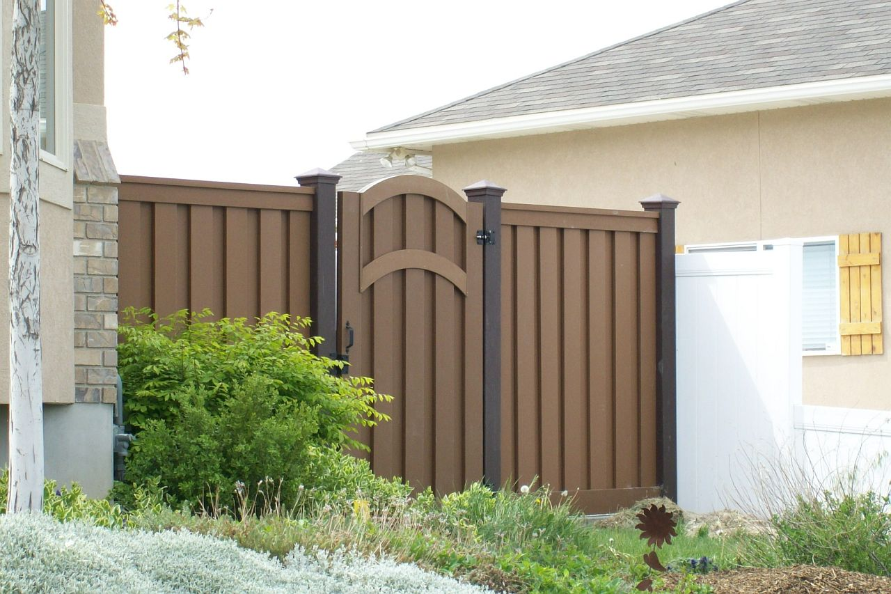 Trex fencing trex fencing cost ma composite fencing trex seclusions woodland brown fence baanklon Gallery
